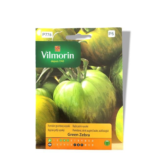 Nasiona pomidora Green Zebra Vilmorin